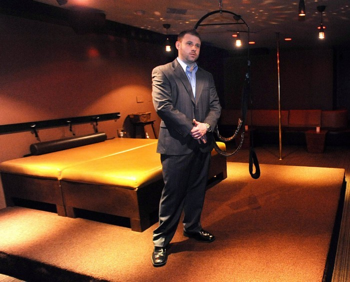 Eric Crewe, manager of Role Play Lounge in Atlantic City.