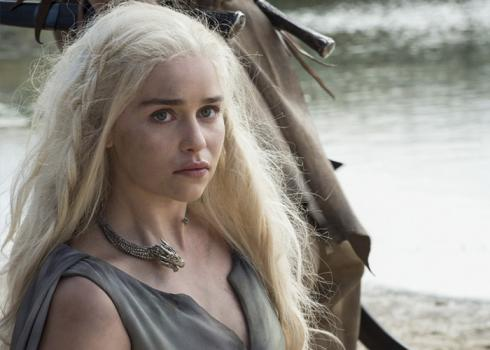 Image of Daenerys Targaryen from HBO's Game of Thrones