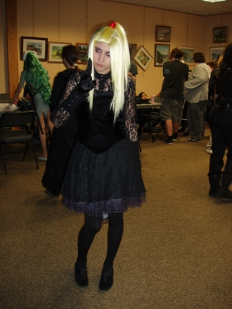 1st place cosplay winner