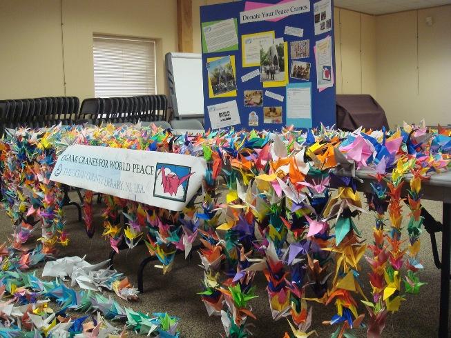 2009 Origami Peace Cranes 1