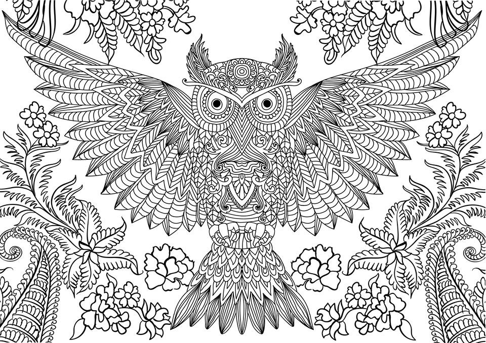 Cute Coloring Pages For Adults Hard Novocom Top