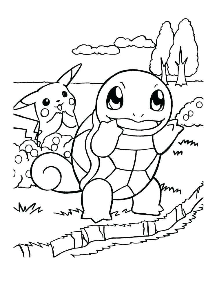 100 Unique Pokemon Coloring Pages Free Download