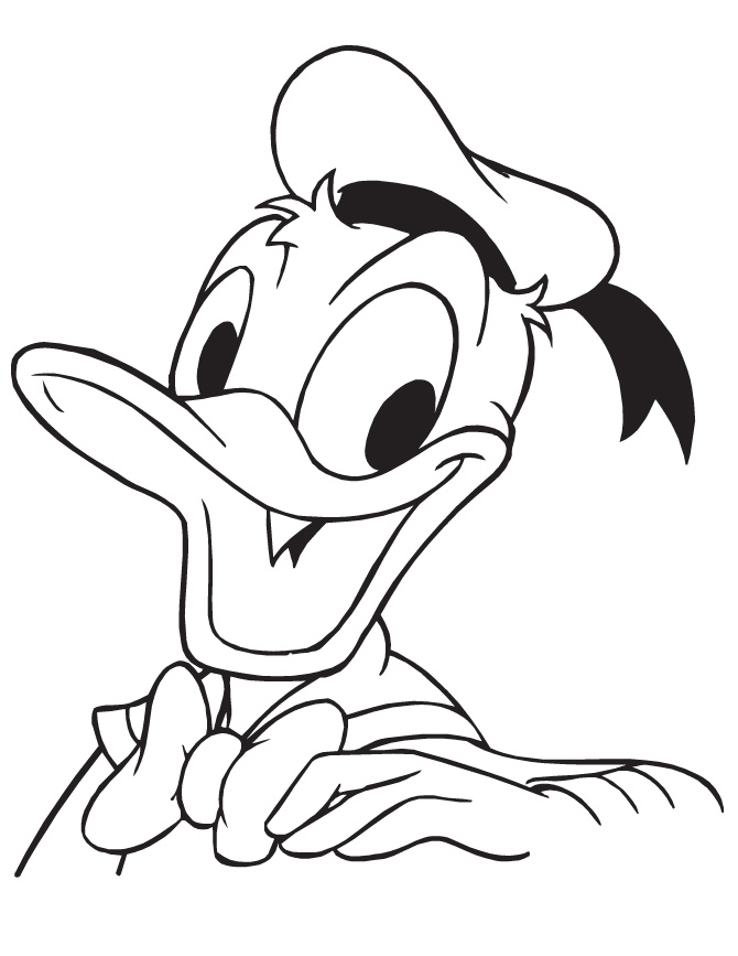 Donald Duck Coloring Pages Download