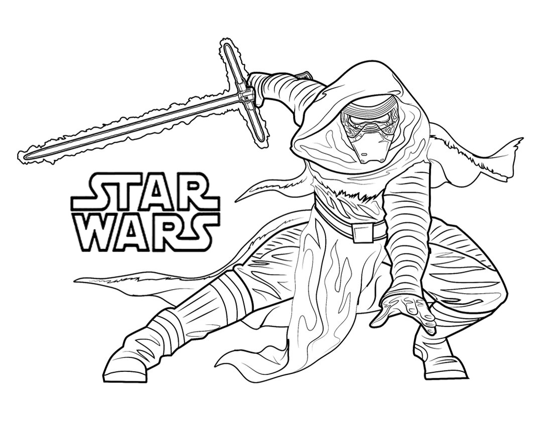 Printable Coloring Pages Jedi Toys
