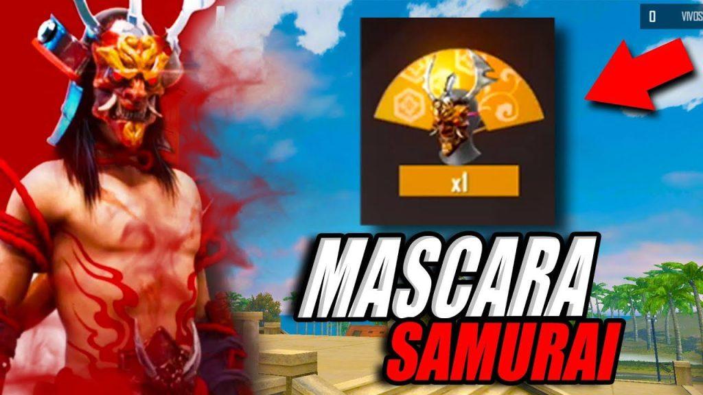 mascara samurai