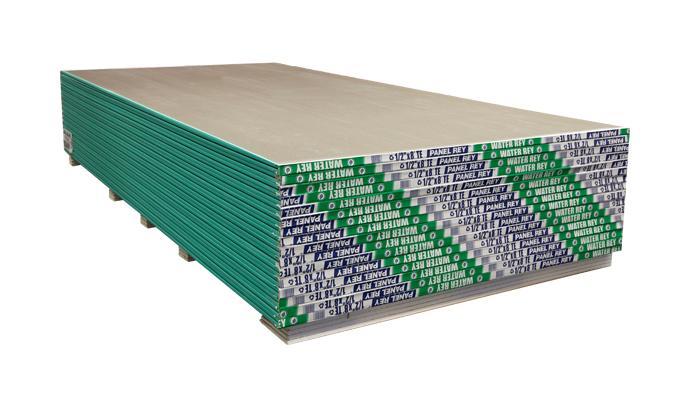 Panel de Yeso Resistente a la Humedad 13 mm 1.22 X 2.44