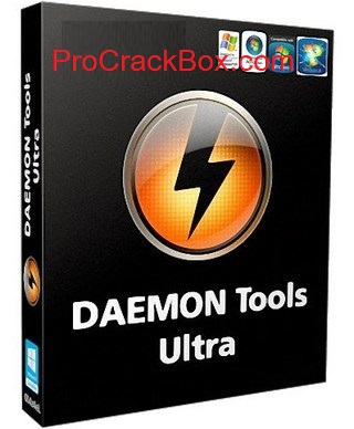 DAEMON Tools Ultra 6.0.0 Crack With License Key Free Download