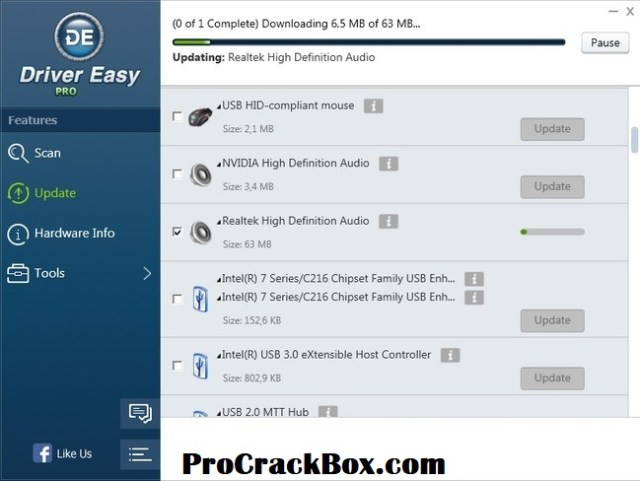 Driver Easy Pro 5.6.15 Crack With License Key Full Torrent