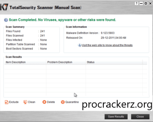 K7 Total Security cracked 2021