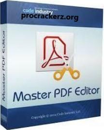 Master PDF Editor Crack 2021