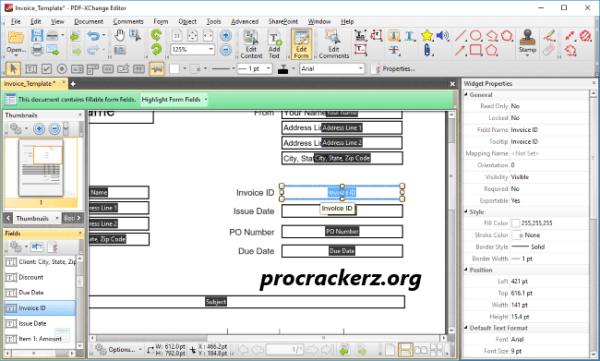 PDF XChange Editor 2021 cracked License Key