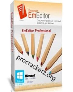 EmEditor Professional 2022 Crack