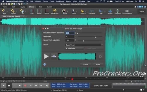 WavePad Sound Editor Registration Code 2022