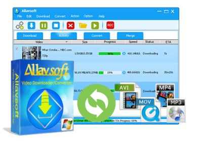 Allavsoft Video Downloader Converter 3.15.6.6653 2018 Crack & Serial Key