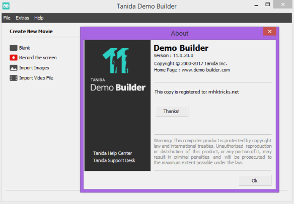 Tanida Demo Builder 11.0.29.0 Crack & Portable Download Free