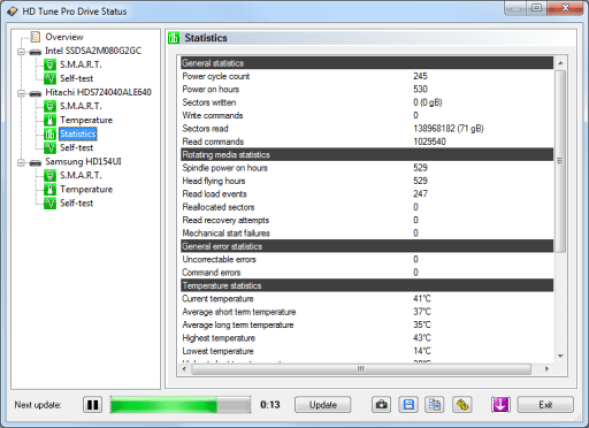 HD Tune Pro v5.70 2018 Crack & Serial Key Download [Portable]