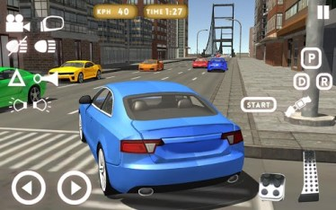 School Driving 3D v2.1 2018 Download Free MOD, Unlimited XP [APK]