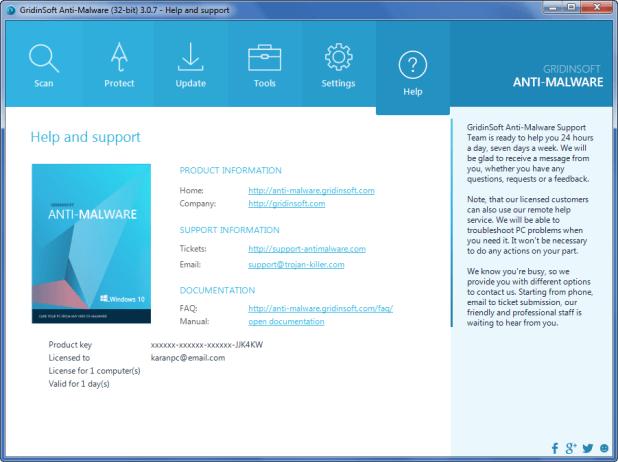 GridinSoft Anti-Malware 3.1.11 Crack & Serial Key Download FREE