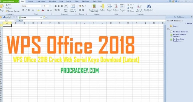 WPS Office 2018 10.2.0.5978 Crack With Serial Keys Download