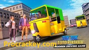 Tuk Tuk Driving Simulator MOD APK Crack