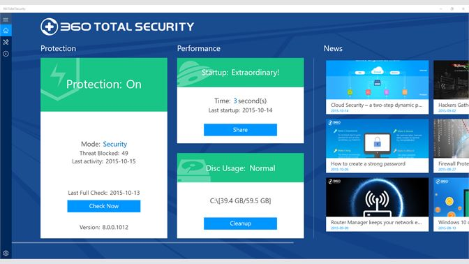 360 Total Security 10.6.0 Crack With License Key 2020