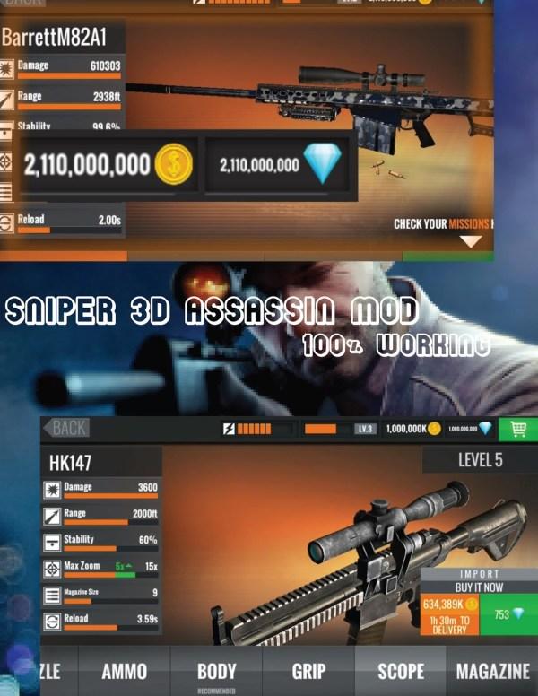 Sniper 3D Assassin Crack