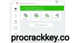 Avira Antivirus Pro 1.1.47.17265 Crack + License Key Free Download 2021