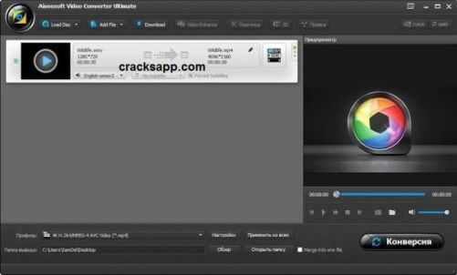 Aiseesoft Video Converte Crack