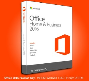 Microsoft-Office 2016 Product key + crack