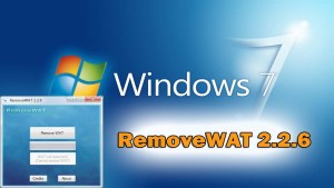 RemoveWAT 2.2.7 Windows 7, 8, 8 full version download