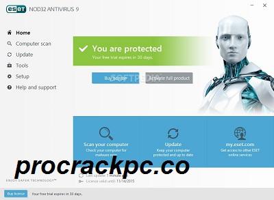 ESET NOD32 AntiVirus 14.1.2 Crack + License Key Free Download 2021