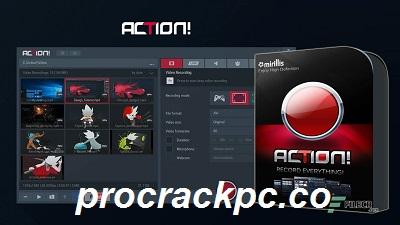 Mirillis Action 4.18.1 Crack + License Key Full Download 2021