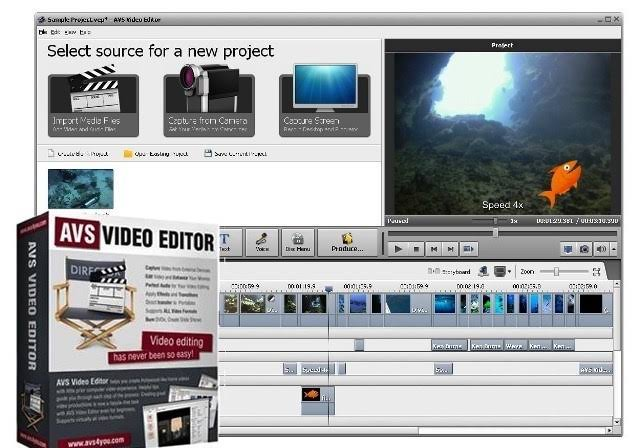 AVS Video Editor Crack With Patch Download