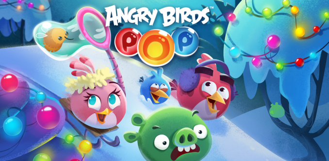 Angry Birds POP Bubble Shooter Mod Apk Download