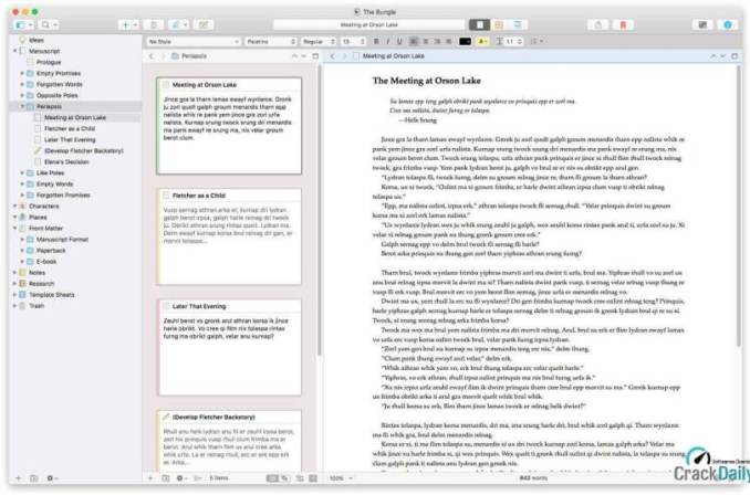 Scrivener Crack Full version Download