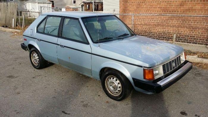 1987-plymouth-horizon-america-hatchback-4-door-22l-low-miles-rare-original-1
