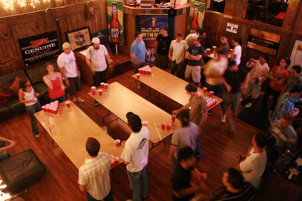 Juegos para bebear #10 BeerPong