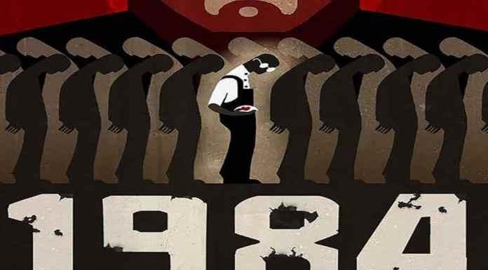 Distopía de George Orwell novela 1984