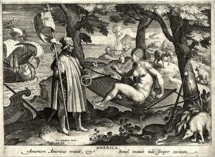 Américo Vespucci despierta (américa)