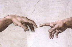 Dios y Adan
