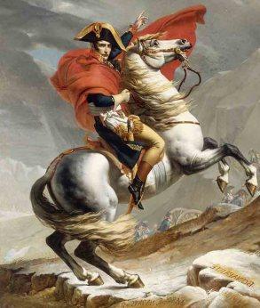 Napoleon a través de los Alpes
