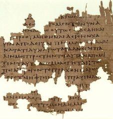 Papiro de La República de Platón
