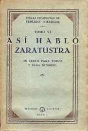 Asi hablo Zaratustra