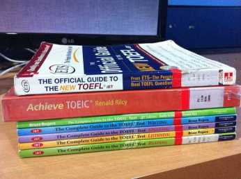 Pruebas de conocimiento TOEFL IELTS de ingles