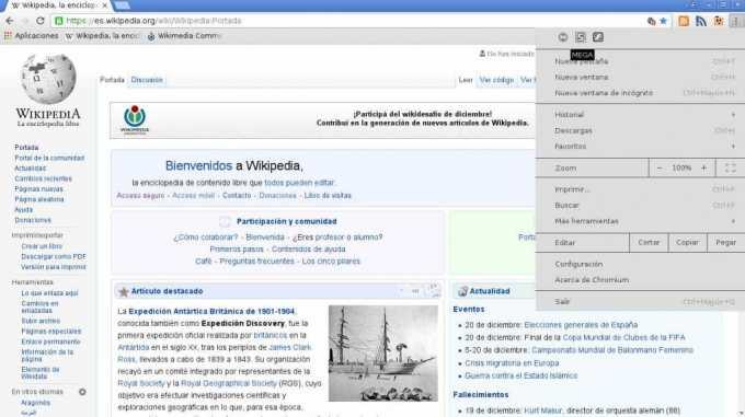 navegador chromium