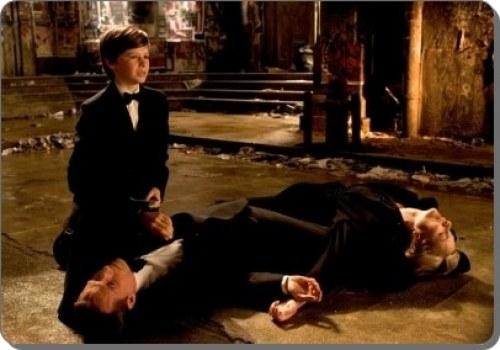 Escena de la muerte de los padres de Bruce Wayne