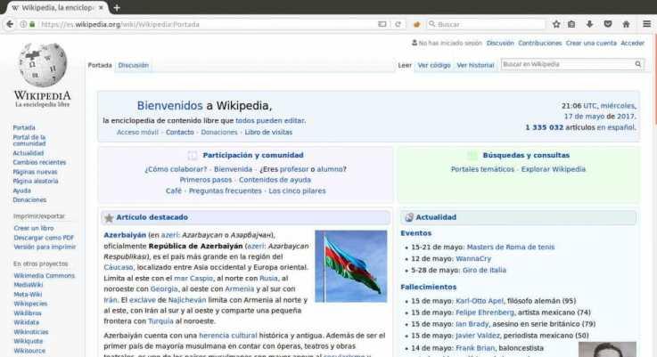 navegador firefox 53.0.2