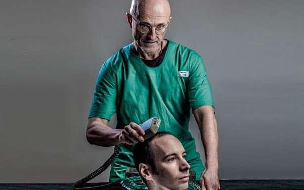 el primer transplante de cabeza