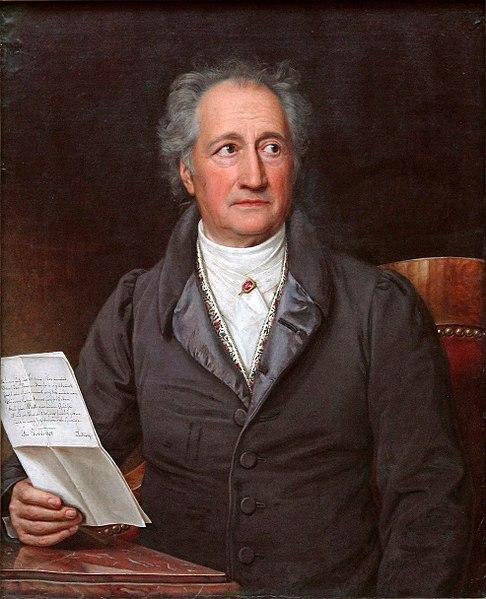 Ultimas palabras de Goethe