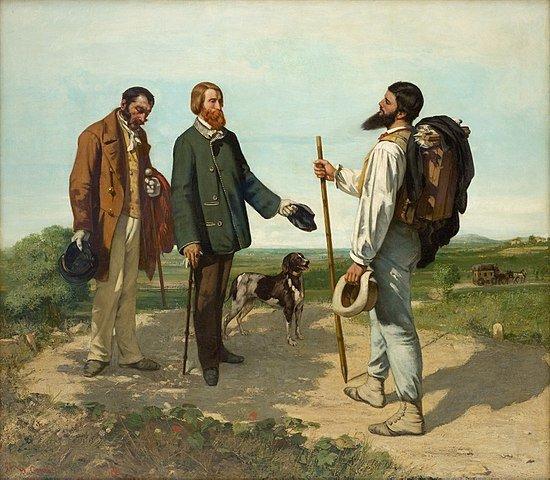Pintura de G. Courbert